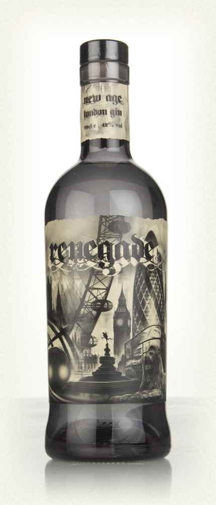 An amazing bottle design more like an illustration from an Edger Alan Poe story than a traditional Sunday afternoon G&T in the garden.