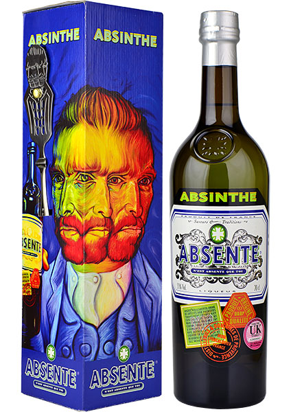 Beautiful packaging which includes a free absinthe spoon so you can perform the absinthe ritual at home.